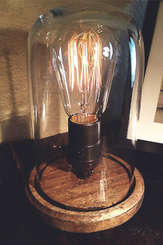 Iconic Industrial - Edison Table Lamp